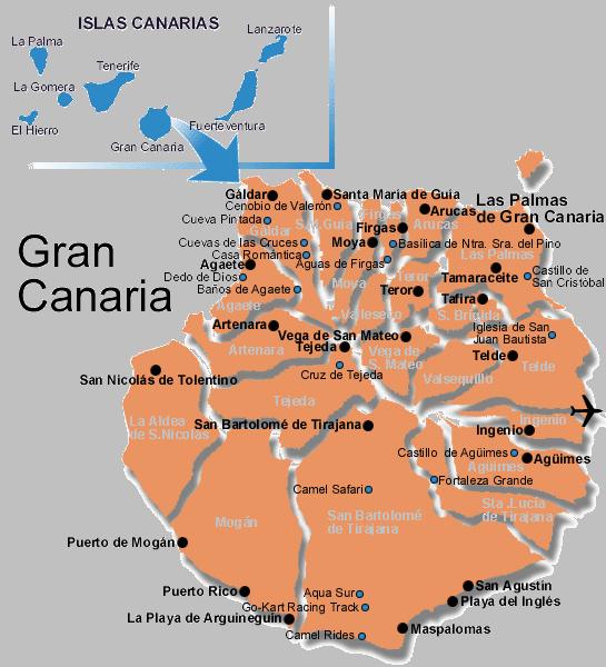 MapaGeneralGranCanaria