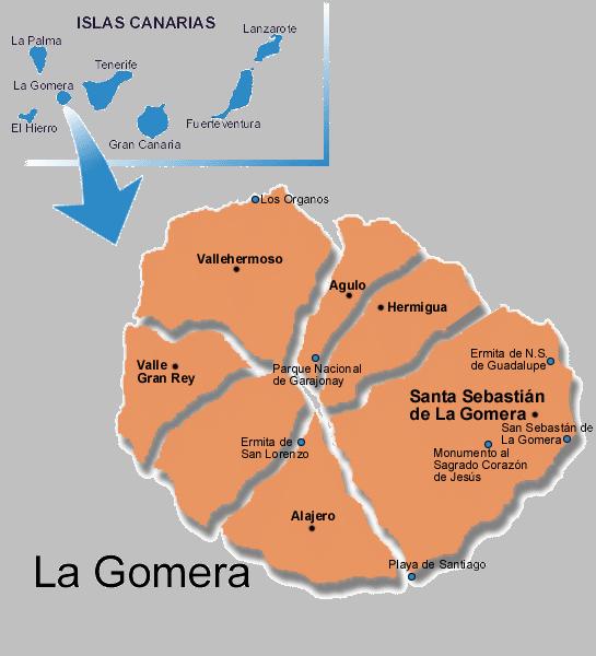 MapaGeneralLa_Gomera